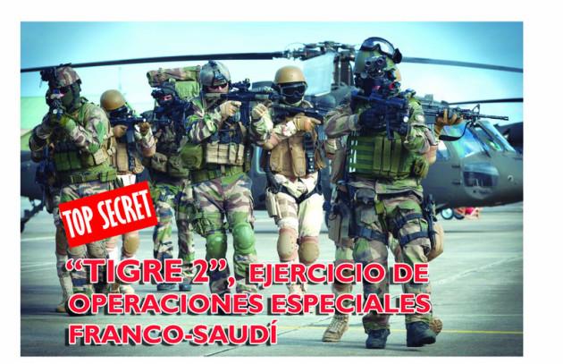 Tigre 2 ejercicios de operaciones especieles franco saudi